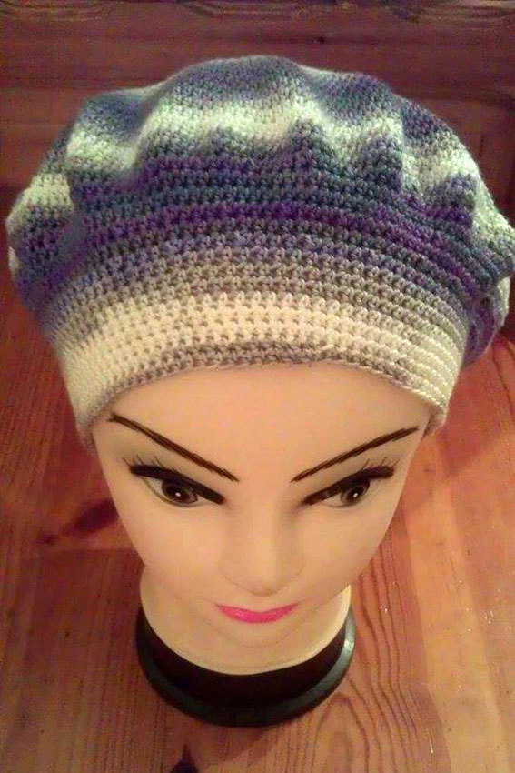 Crochet Womens hat Free shipping